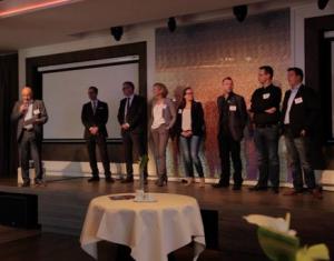 De organisatie van de Regionale Open Coffee inclusief Jaco Nabuurs en Hans van der Sterren van Asteria.